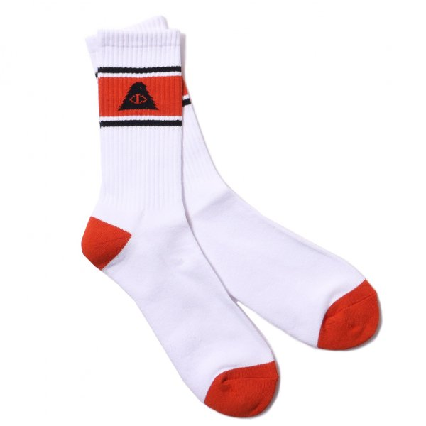 CYCLOPS SKATE SOCKS - ORANGE