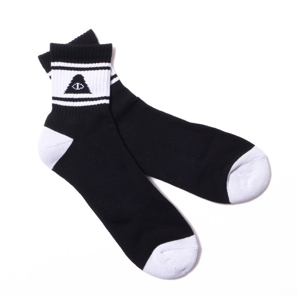 CYCLOPS MID SOCKS - BLACK