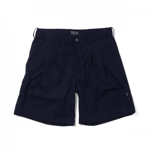 SKATE BAGGY CHINO SHORTS - NAVY