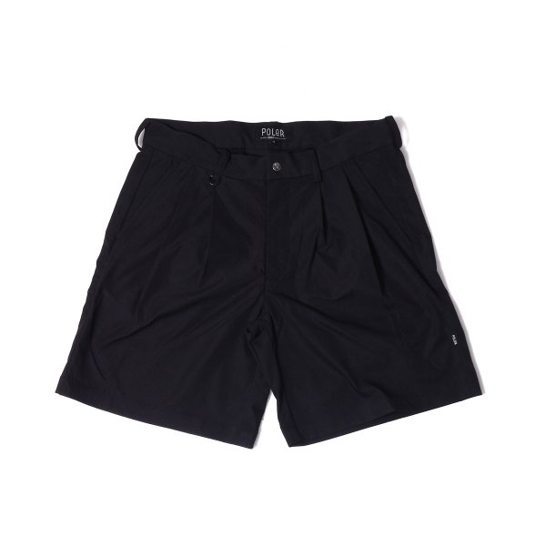 SKATE BAGGY CHINO SHORTS - BLACK