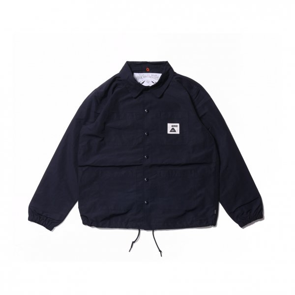SUMMIT COVERALL COACH JACKET - NAVY