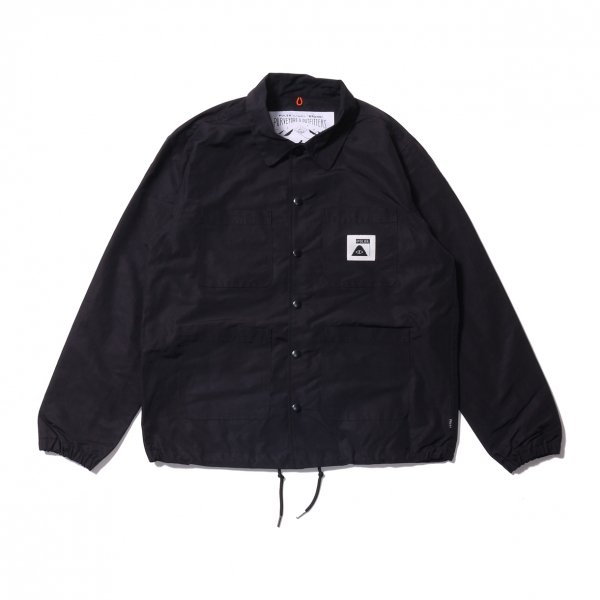 SUMMIT COVERALL COACH JACKET - BLACK