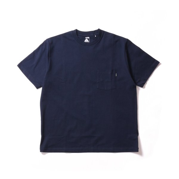 POLER HEAVY WEIGHT POCKET TEE - NAVY
