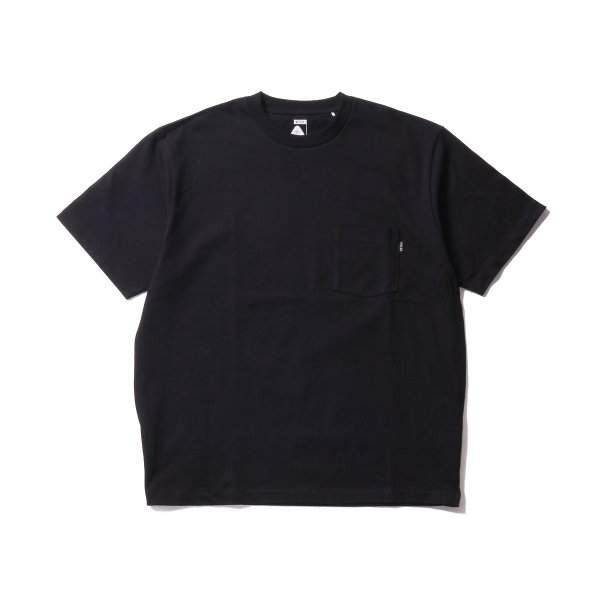 POLER HEAVY WEIGHT POCKET TEE - BLACK