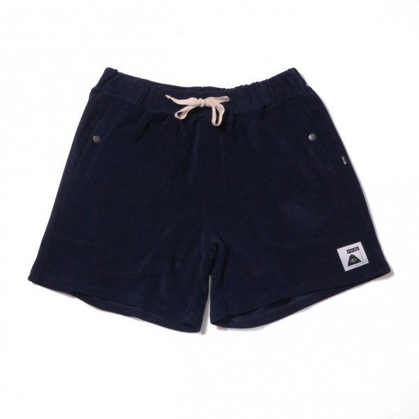 RELAX PILE SHORTS - NAVY