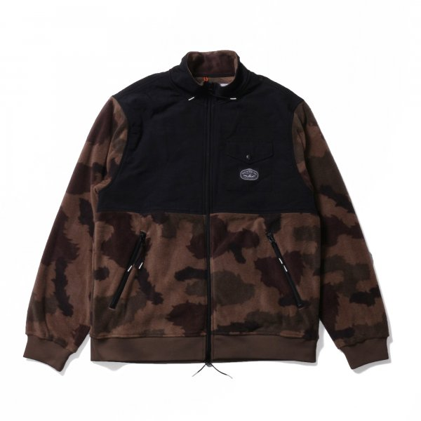 CEDAR FLEECE - FURRY CAMO/BLACK