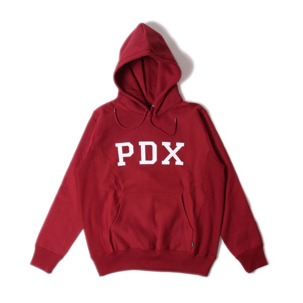 PDX HEAVY WEIGHT HOODIE - WINE