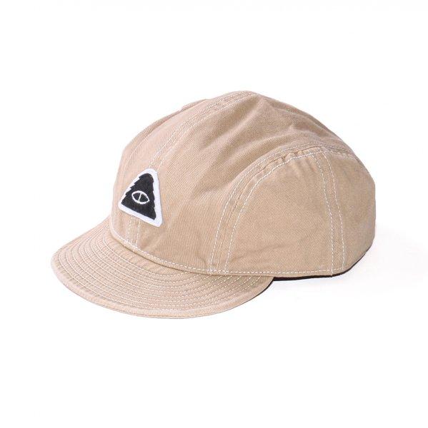 EYE PATCH MECHANIC CAP - BEIGE