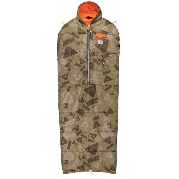 THE REVERSIBLE NAPSACK - SUMMIT CAMO GREEN