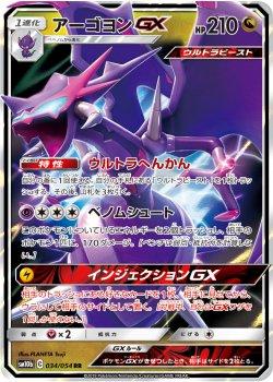 【ポケモンカードゲーム】アーゴヨンGX【RR】SM10b