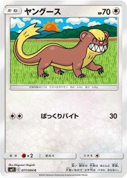 【ポケモンカードゲーム】ヤングース【C】