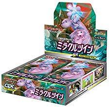 【税込送料無料】 ポケモンカードゲーム サン&ムーン 強化拡張パック「ミラクルツイン」 BOX