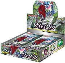 【税込送料無料】 ポケモンカードゲーム サン&ムーン 強化拡張パック「 ナイトユニゾン」 BOX