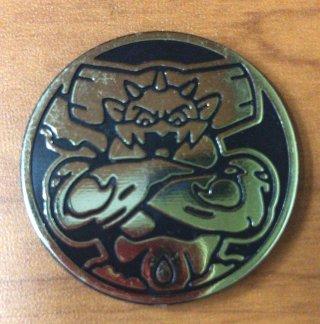 ポケモンカード 海外コイン ランドロス