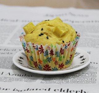 さつまいものカップケーキ
