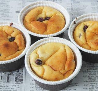 甘酒のカップケーキ