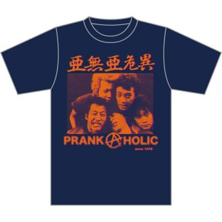 <img class='new_mark_img1' src='https://img.shop-pro.jp/img/new/icons5.gif' style='border:none;display:inline;margin:0px;padding:0px;width:auto;' />PRANK A HOLIC T-SHIRTS NAVY