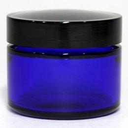 ブルーガラスジャー50g