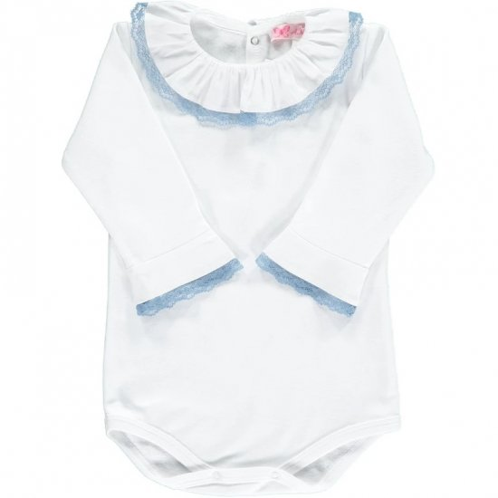 <img class='new_mark_img1' src='https://img.shop-pro.jp/img/new/icons20.gif' style='border:none;display:inline;margin:0px;padding:0px;width:auto;' />【15%OFF】Amaia Kids - Chelsea Top longsleeve - Blue アマイアキッズ - 長袖トップス・ボディースーツ