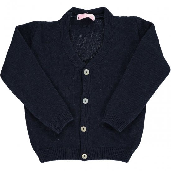 <img class='new_mark_img1' src='//img.shop-pro.jp/img/new/icons42.gif' style='border:none;display:inline;margin:0px;padding:0px;width:auto;' />Amaia Kids - Sous marin cardigan - Navy