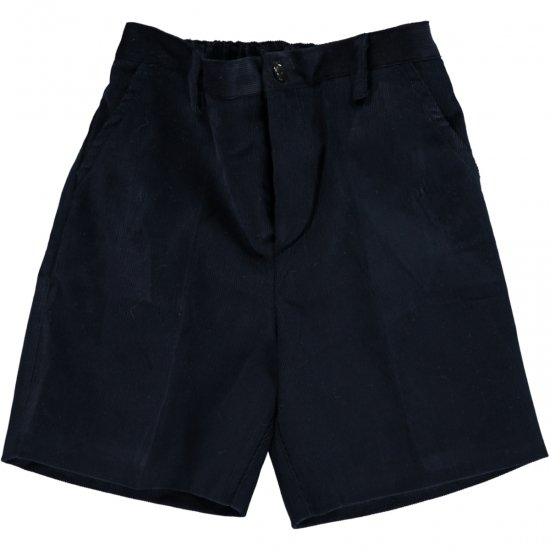 <img class='new_mark_img1' src='https://img.shop-pro.jp/img/new/icons14.gif' style='border:none;display:inline;margin:0px;padding:0px;width:auto;' />Amaia Kids - Gull shorts - Navy Corduroy アマイアキッズ - コーデュロイパンツ
