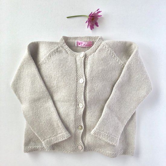 Amaia Kids - Grape Grey cardigan