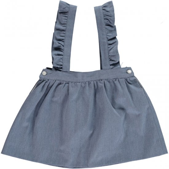 <img class='new_mark_img1' src='https://img.shop-pro.jp/img/new/icons20.gif' style='border:none;display:inline;margin:0px;padding:0px;width:auto;' />50%OFF★Amaia Kids - Molly skirt - denim アマイアキッズ - デニムスカート