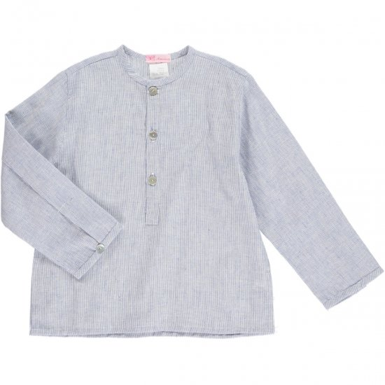 <img class='new_mark_img1' src='https://img.shop-pro.jp/img/new/icons20.gif' style='border:none;display:inline;margin:0px;padding:0px;width:auto;' />50%OFF★Amaia Kids - Victor shirt - blue アマイアキッズ - シャツ