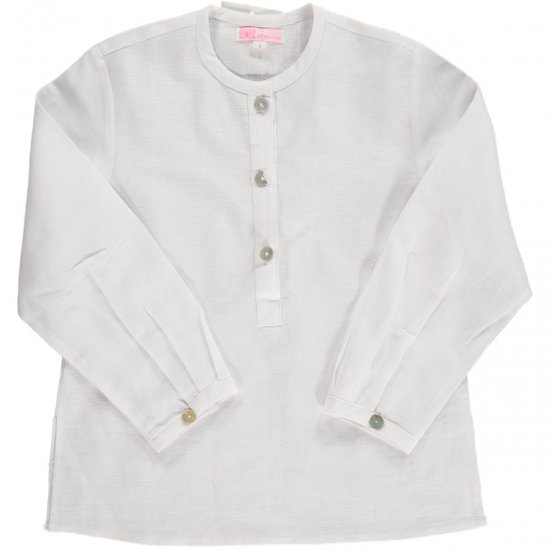 <img class='new_mark_img1' src='//img.shop-pro.jp/img/new/icons14.gif' style='border:none;display:inline;margin:0px;padding:0px;width:auto;' />Amaia Kids - Victor shirt - white