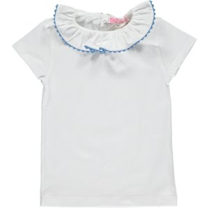 <img class='new_mark_img1' src='//img.shop-pro.jp/img/new/icons14.gif' style='border:none;display:inline;margin:0px;padding:0px;width:auto;' />Amaia Kids - Chelsea Top (short sleeves)- blue