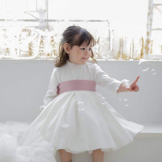 【オーダー受付】Amaia Kids - Eugenie dress - Pink  アマイアキッズ - ドレス