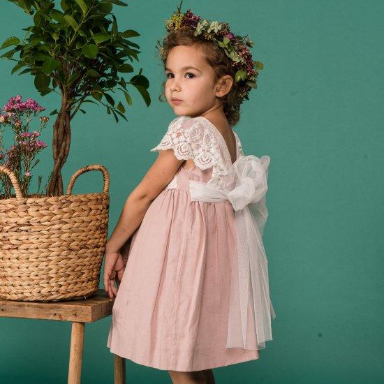【オーダー受付】Amaia Kids - Lea dress アマイアキッズ - ドレス