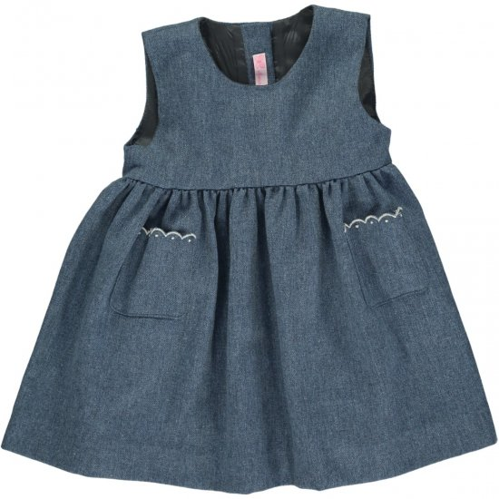 <img class='new_mark_img1' src='https://img.shop-pro.jp/img/new/icons14.gif' style='border:none;display:inline;margin:0px;padding:0px;width:auto;' />Amaia Kids - Pichi dress - Blue アマイアキッズ - ジャンパースカート