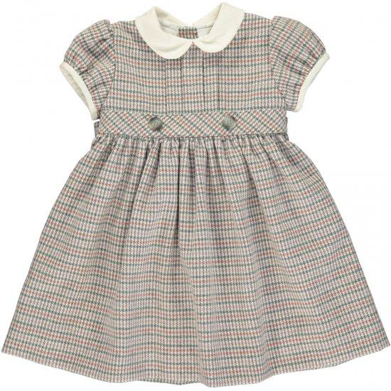 <img class='new_mark_img1' src='https://img.shop-pro.jp/img/new/icons20.gif' style='border:none;display:inline;margin:0px;padding:0px;width:auto;' />【40%OFF】Amaia Kids - Corneta dress - アマイアキッズ - チェックワンピース