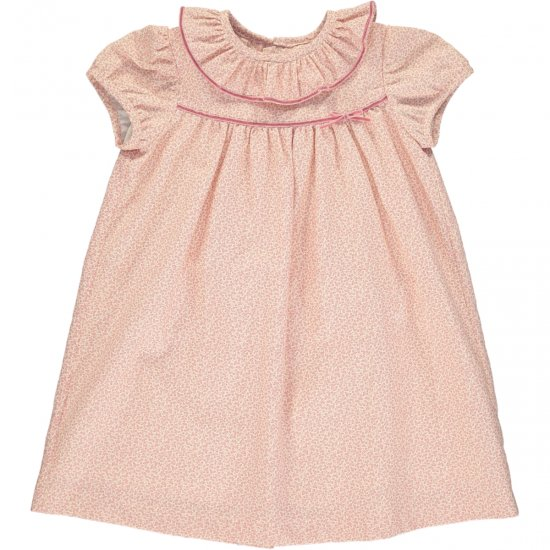 <img class='new_mark_img1' src='https://img.shop-pro.jp/img/new/icons14.gif' style='border:none;display:inline;margin:0px;padding:0px;width:auto;' />Amaia Kids - Ruby dress - Pink アマイアキッズ - フリルワンピース