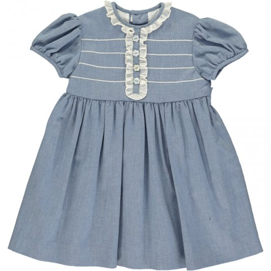 <img class='new_mark_img1' src='https://img.shop-pro.jp/img/new/icons20.gif' style='border:none;display:inline;margin:0px;padding:0px;width:auto;' />【40%OFF】Amaia Kids - Pruna dress - アマイアキッズ - フリルワンピース
