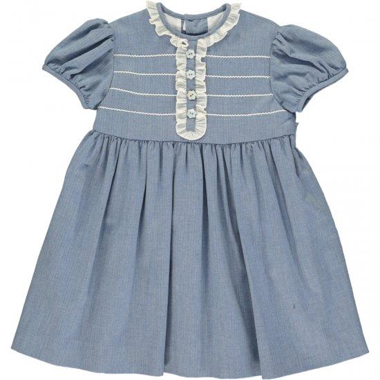 Amaia Kids - Pruna dress - アマイアキッズ - フリルワンピース