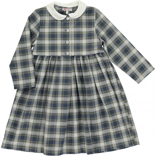 <img class='new_mark_img1' src='https://img.shop-pro.jp/img/new/icons14.gif' style='border:none;display:inline;margin:0px;padding:0px;width:auto;' />Amaia Kids - Teresa dress - アマイアキッズ - タータンチェックワンピース