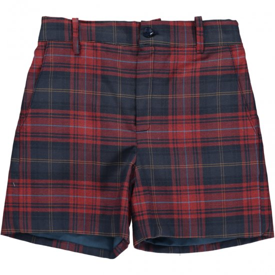 <img class='new_mark_img1' src='https://img.shop-pro.jp/img/new/icons14.gif' style='border:none;display:inline;margin:0px;padding:0px;width:auto;' />Amaia Kids - Gull shorts - Tartan アマイアキッズ - タータンチェックパンツ