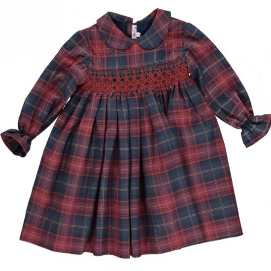 <img class='new_mark_img1' src='https://img.shop-pro.jp/img/new/icons14.gif' style='border:none;display:inline;margin:0px;padding:0px;width:auto;' />Amaia Kids - Jujube dress - アマイアキッズ - スモッキング刺繍ワンピース