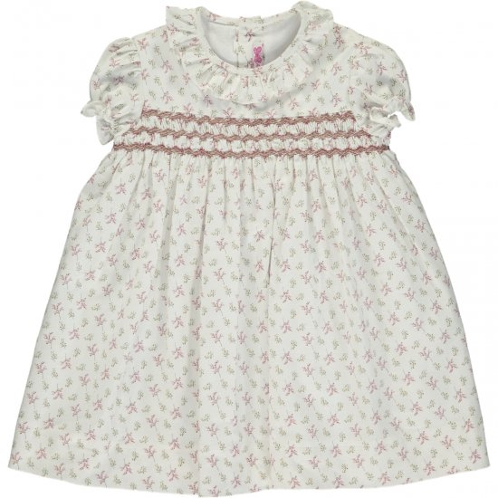 <img class='new_mark_img1' src='https://img.shop-pro.jp/img/new/icons14.gif' style='border:none;display:inline;margin:0px;padding:0px;width:auto;' />Amaia Kids - Moohren dress mini - アマイアキッズ - スモッキング刺繍ワンピース