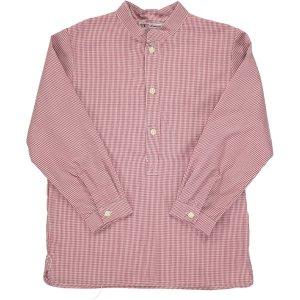 Amaia Kids - Pereprine shirt - Burgundy アマイアキッズ - シャツ