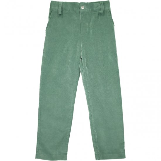 <img class='new_mark_img1' src='https://img.shop-pro.jp/img/new/icons58.gif' style='border:none;display:inline;margin:0px;padding:0px;width:auto;' />Amaia Kids - Theodore trousers - Green アマイアキッズ - コーデュロイパンツ