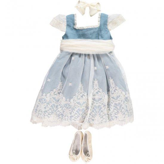 【オーダー受付】Amaia Kids - Cecil dress アマイアキッズ -ドレス