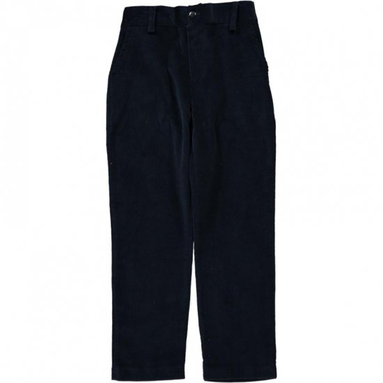 Amaia Kids - Theodore trousers - Navy アマイアキッズ - コーデュロイパンツ