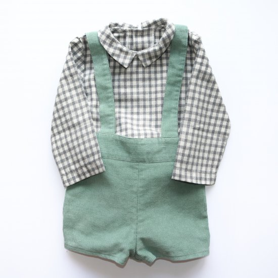 <img class='new_mark_img1' src='https://img.shop-pro.jp/img/new/icons20.gif' style='border:none;display:inline;margin:0px;padding:0px;width:auto;' />【40%OFF】Amaia Kids - Curious shirt- アマイアキッズ - 長袖シャツ