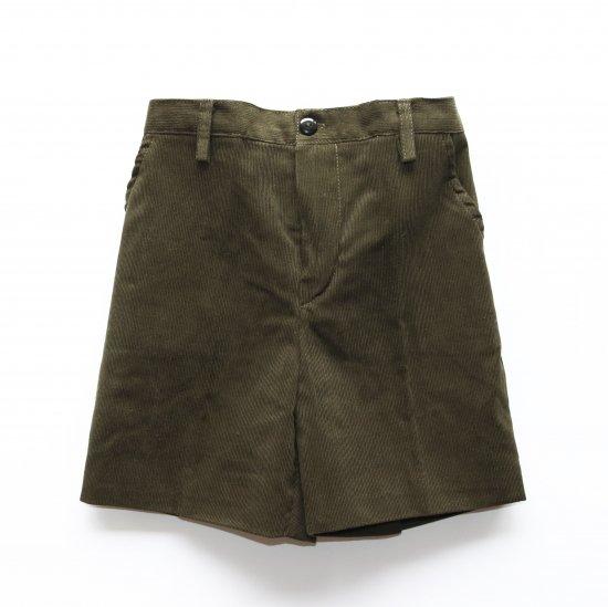 <img class='new_mark_img1' src='https://img.shop-pro.jp/img/new/icons14.gif' style='border:none;display:inline;margin:0px;padding:0px;width:auto;' />Amaia Kids - Gull shorts - Khaki Corduroy アマイアキッズ - コーデュロイパンツ