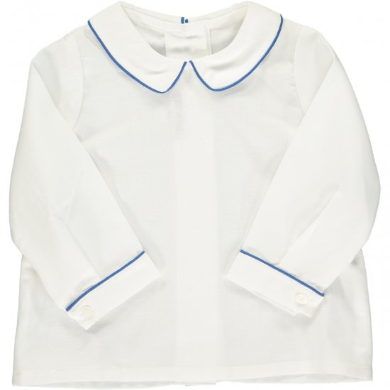 <img class='new_mark_img1' src='https://img.shop-pro.jp/img/new/icons14.gif' style='border:none;display:inline;margin:0px;padding:0px;width:auto;' />Amaia Kids - Mallard shirt longsleeve- Blue アマイアキッズ - 長袖シャツ