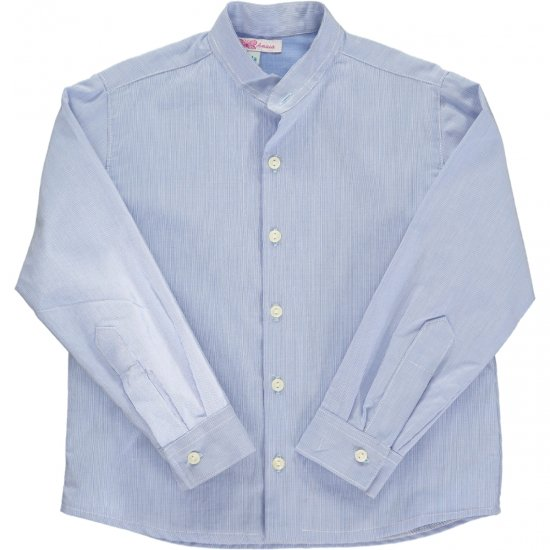 <img class='new_mark_img1' src='https://img.shop-pro.jp/img/new/icons14.gif' style='border:none;display:inline;margin:0px;padding:0px;width:auto;' />Amaia Kids - Pereprine shirt - Blue アマイアキッズ - シャツ