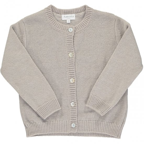 <img class='new_mark_img1' src='https://img.shop-pro.jp/img/new/icons14.gif' style='border:none;display:inline;margin:0px;padding:0px;width:auto;' />Amaia Kids - Moana cardigan - Grey アマイアキッズ - カーディガン
